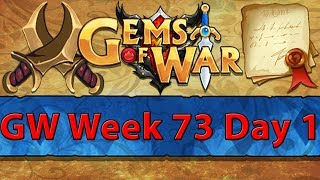 ⚔️ Gems of War Guild Wars | Week 73 Day 1 | Red GW and Lyrasza's Lair Delving ⚔️