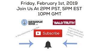 The Bald Truth-Friday June22nd, 2018-Brain fog, hair transplants