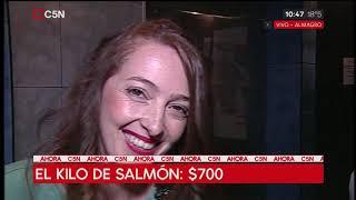 Todo sube: El kilo de merluza en 2017 estaba 100 pesos
