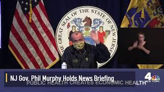 NJ Gov. Murphy Briefing on Isaias, Coronavirus