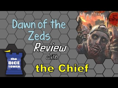The Dice Tower: Chief reviews Dawn of the Zeds