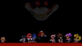 Sonic Exe: Nightmare Beginning All Endings - EdyDude