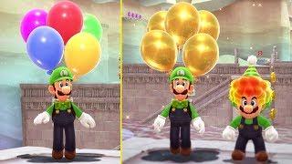Super Mario Odyssey - Reaching Highest Rank in Luigi's Balloon World (Rank 50 + Reward)