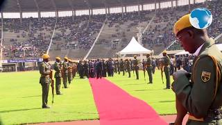 Mugabe's state funeral held in half-empty stadium