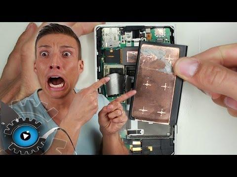 Nokia Lumia 1020 Akku Wechseln Tauschen reparieren[Deutsch/German] Disassembly