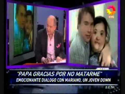 Ver vídeoSíndrome de Down: La historia de Mariano
