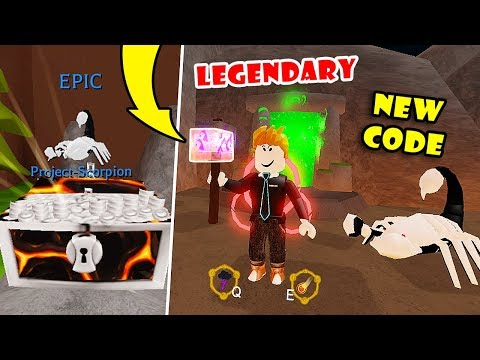 UNLOCKED ALL AREAS! GOT LEGENDARY WEAPON + CODE + BEST EPIC PET In WIZARD SIMULATOR! [Roblox]