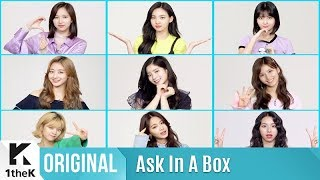 ASK IN A BOX(에스크 인 어 박스): TWICE(트와이스) _ What is Love?