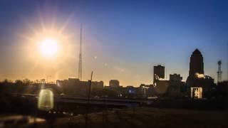 Des Moines Sunrise Time-Lapse