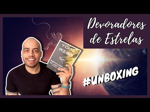 UNBOXING DE LIVROS #10 | DEVORADORES DE ESTRELAS