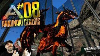 Ark Annunaki Genesis Mod Gameplay - S2 Ep 8 - ARK FIRE DRAKE & METAL GLASS BASE! (Pooping Evolved)