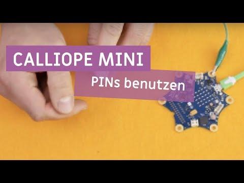 Calliope mini - Pins benutzen