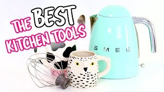 The BEST Kitchen Tools for Beginners | Dorm Room, First Apartment + Beginner Cooks!