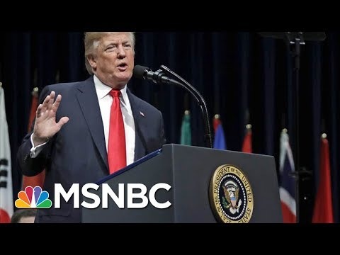 Analyzing President Donald Trump's Support For Law Enforcement | MSNBC