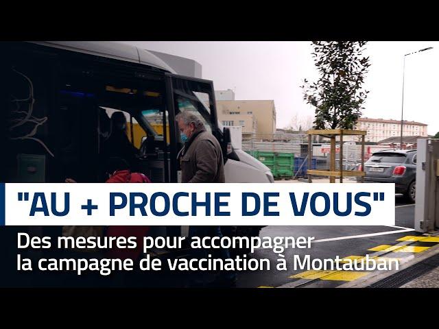 « Au + proche de vous » : accompagner la campagne de vaccination