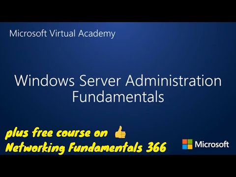 Windows Server Administration Fundamentals Full Certificate ...