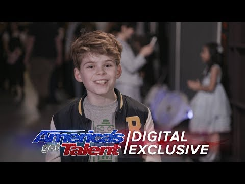 Elimination Interview: Merrick Hanna Chats Life-Changing Experience - America's Got Talent 2017 (видео)