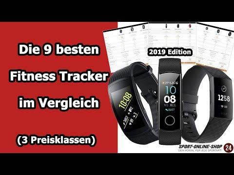 Fitness Tracker kaufen 2019 ⌚ ➡️ Die 9 besten Fitness Armbänder im Vergleich [3 Preisklassen]