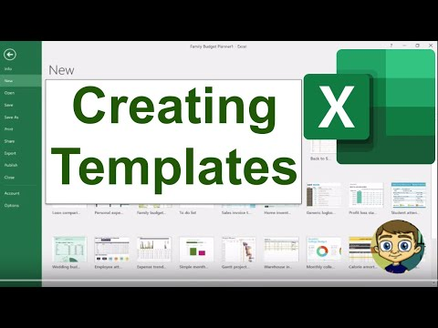 , title : 'Creating Your Own Excel Templates