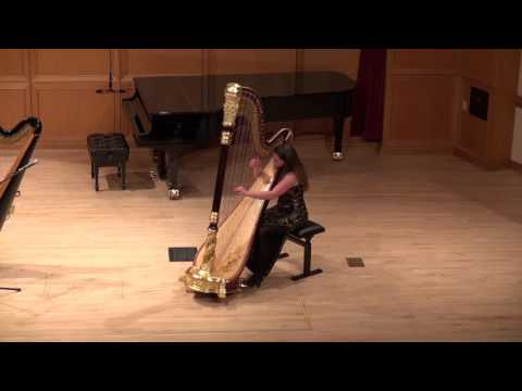 """Suite Galactique"" by Caroline Lizotte. Performed during my graduate performance certificate recital."