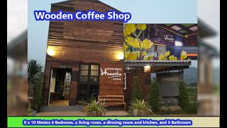 SMALL BEAUTIFUL BUDGET COFFEE SHOP CONCEPT DESIGN #2
