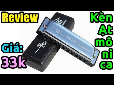 Trên tay kèn harmonica giá rẻ, KTheme tập thổi kèn