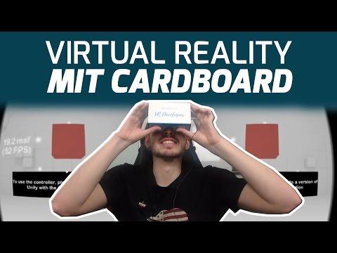 App für VR-Brille selber bauen - iOS / Android - Unity Cardboard SDK - Virtual Reality - Tutorial
