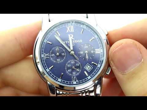 Unboxing XLORDX Herren Armbanduhr Elegant Quarzuhr Uhr Chronograph Datum klassisch