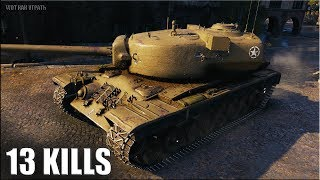 13 ФРАГОВ на АМЕРИКАНЦЕ Т29 🌟 World of Tanks лучший бой на ТТ 7 уровня