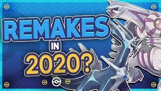 Pokémon Diamond and Pearl Remakes Coming in 2020?