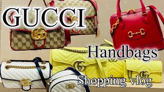 GUCCI HANDBAGS LUXURY SHOPPING BLOG/ GUCCI BAGS SHOP WITH ME.