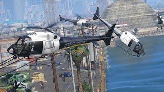 CRAZY Amount of Helicopter Backup