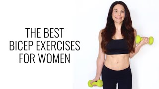 The Best Bicep Exercises for Women - Christina Carlyle by Christina Carlyle