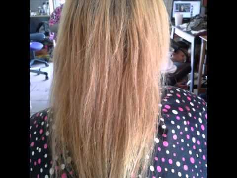 Cambio de color y alargamiento del cabello