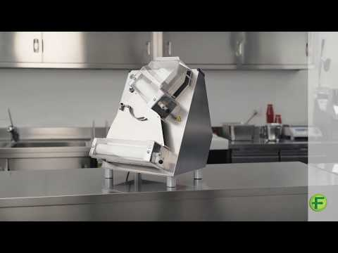 Pizza Rolling Machines With Double Pair of Rollers Series FI