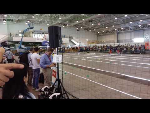 Drone Racing | Gara di velocità ad ostacoli tra droni Maker Faire di Roma