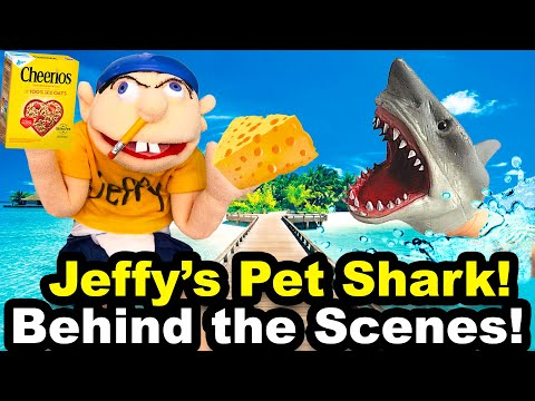 Jeffy's Pet Shark Puppet - Behind the Scenes!