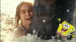 I put 'It's the best day ever' from spongebob into a world disaster