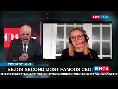 CEO Spotlight Bezos second most famous CEO