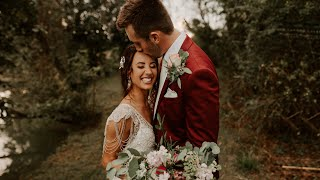 This Boho Bride Went Barefoot On Her Wedding Day - Filmed On The Canon 5D Mark IV