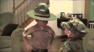 The 4 Year Old Drill Instructor