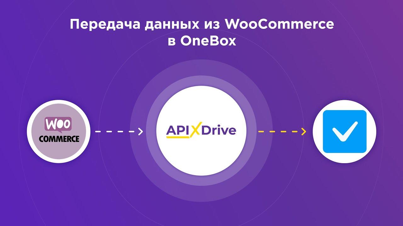 Как настроить выгрузку данных из WooCommerce в OneBox?