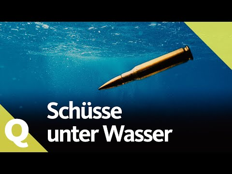 Jak nebezpečné jsou výstřely pod vodou?