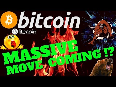 🔥 MASSIVE MOVE FOR BITCOIN COMING !? 🔥bitcoin litecoin price prediction, analysis, news, trading
