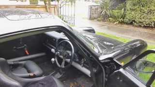 preview picture of video 'Supercharged 911 3.2L - wetlaps at Ruapuna'