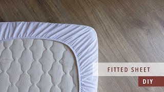 how to sew a fitted sheet | bedding set ep. 3