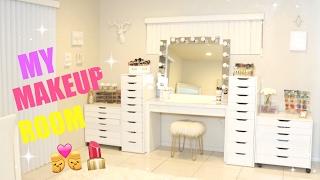 My New Makeup Room !!!