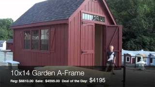 Garden Shed Deal Of The Day