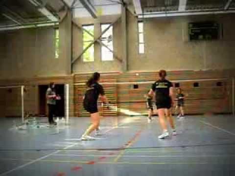 Saarlandmeisterschaft PSV Saarbruecken LIVE Badminton TRICK Schueler Saarland Meister Sport Saarland