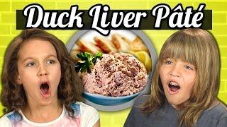 KIDS vs. FOOD - DUCK LIVER PATE - dooclip.me